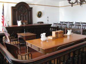 courtroom litigation